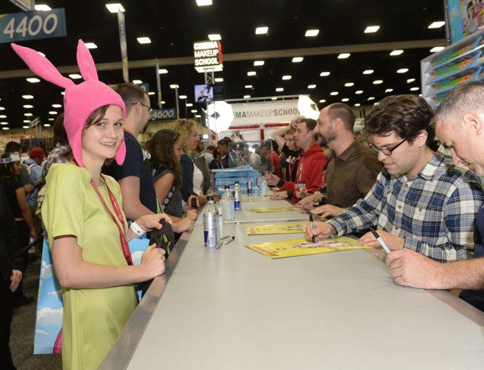 Bobs Burgers San Diego Comic Con 2014 29