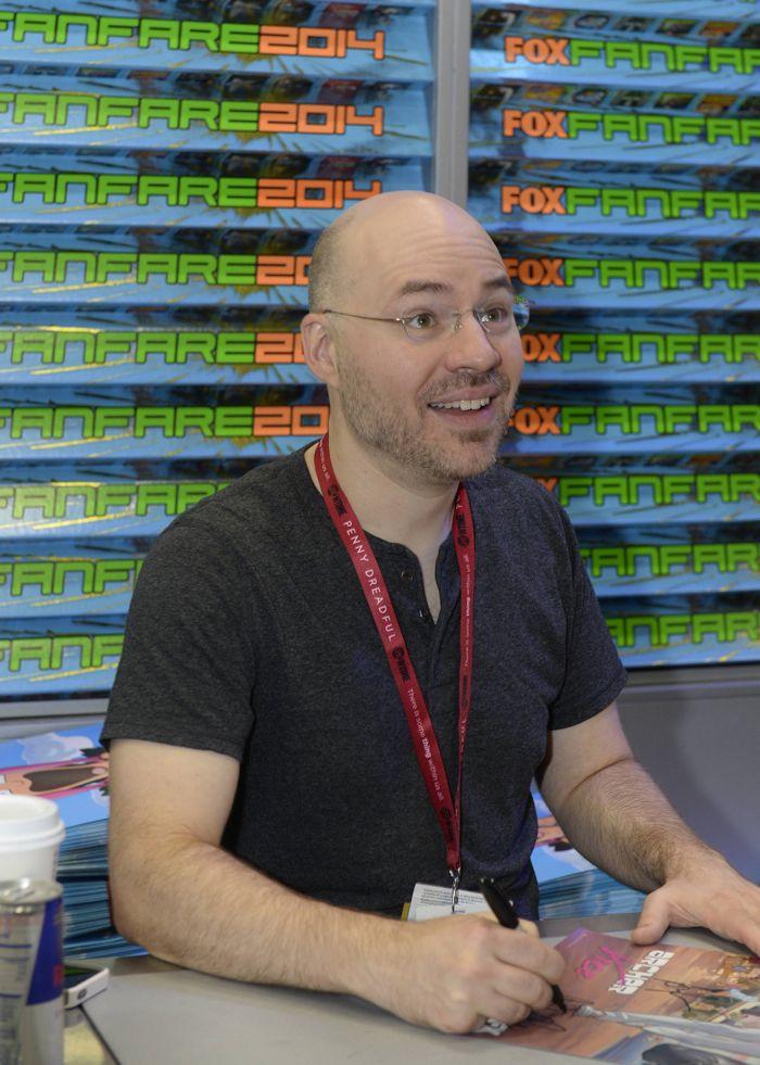 Casey Willis Archer San Diego Comic Con 2014