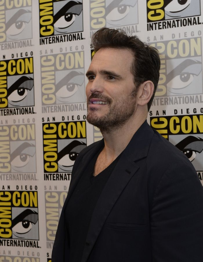 WAYWARD PINES Cast member Matt Dillon behind the scenes on Friday, July 15 at the FOX FANFARE AT SAN DIEGO COMIC-CON