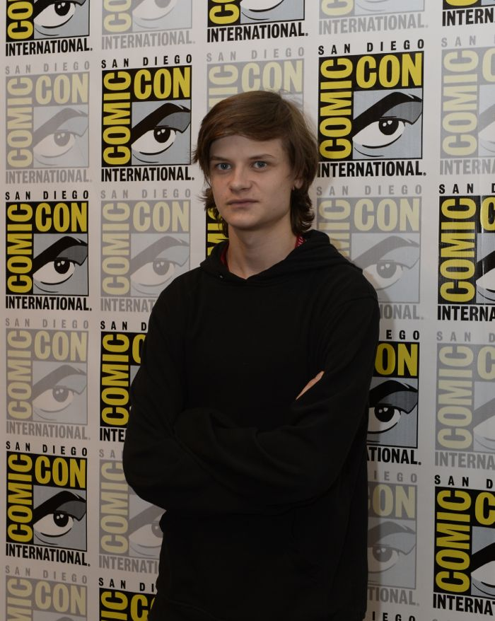WAYWARD PINES Cast member Charlie Tahan behind the scenes on Friday, July 15 at the FOX FANFARE AT SAN DIEGO COMIC-CON