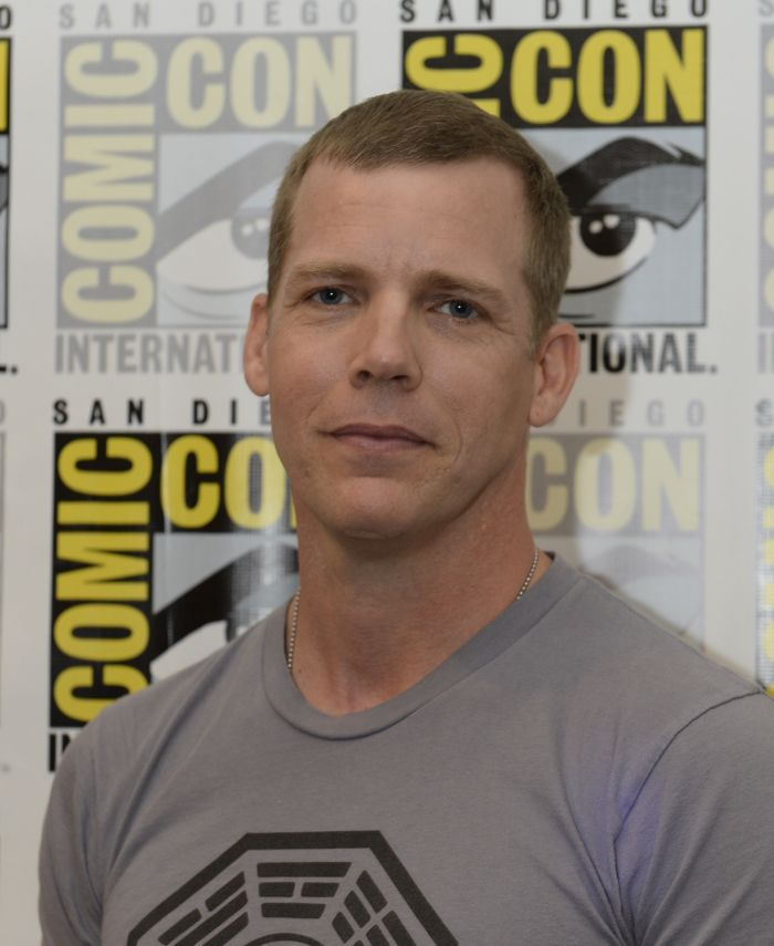 WAYWARD PINES Cast member Tim Griffin behind the scenes on Friday, July 15 at the FOX FANFARE AT SAN DIEGO COMIC-CON