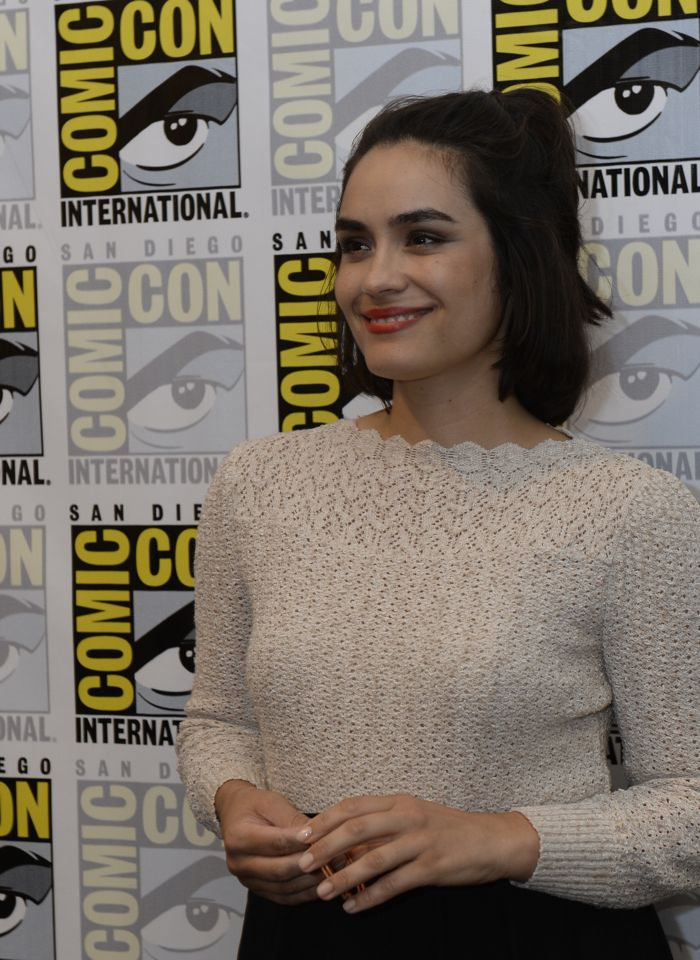 WAYWARD PINES Cast member Shannyn Sossamon behind the scenes on Friday, July 15 at the FOX FANFARE AT SAN DIEGO COMIC-CON