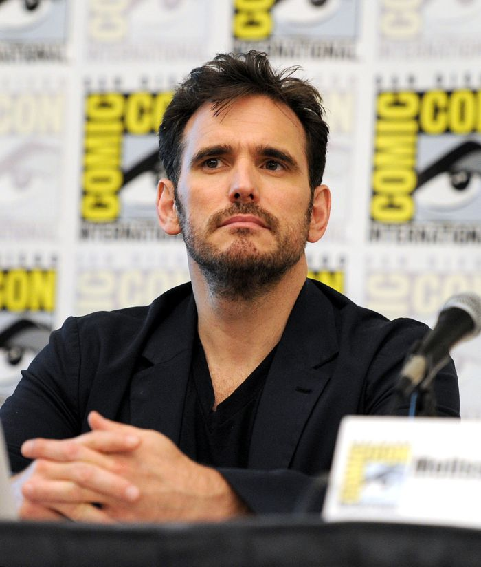 Cast member Matt Dillon during the WAYWARD PINES panel on Friday, July 25 at the FOX FANFARE AT SAN DIEGO COMIC-CON