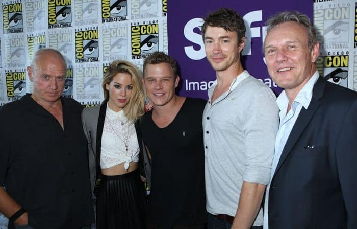 Dominion Cast San Diego Comic Con 2014 04