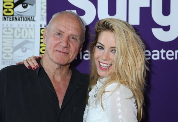 Alan Dale and Roxanne McKee Dominion Comic-Con International: San Diego - 2014