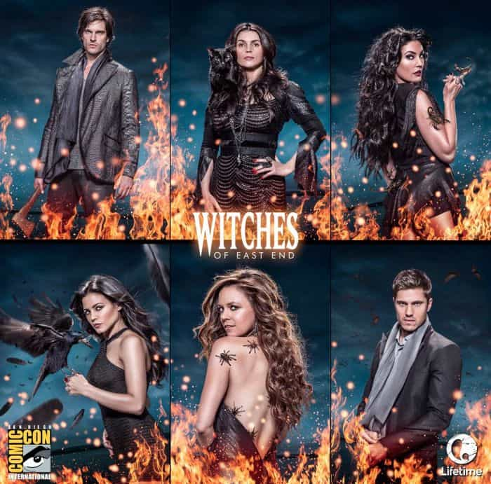 WITCHES OF EAST END Comic Con Poster