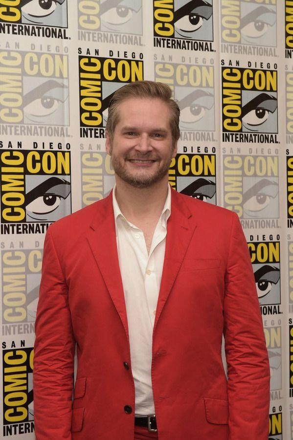 Bryan Fuller Hannibal Press Room At Comic Con