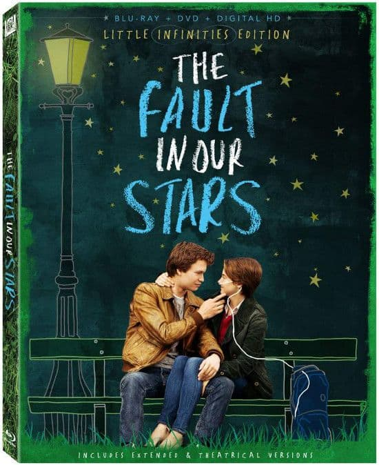 The Fault In Our Stars Bluray DVD Cover Artwork