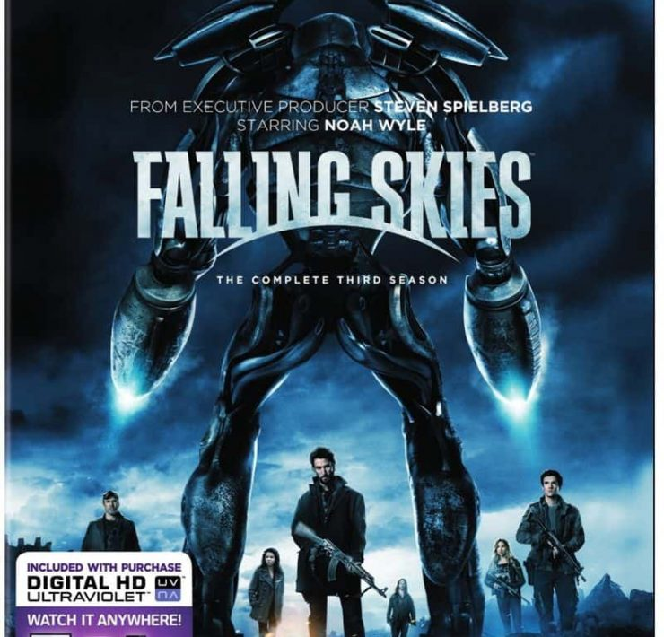 Falling Skies Season 3 Bluray DVD