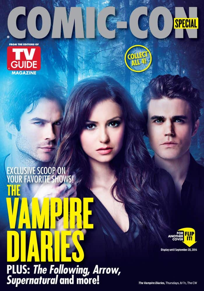WB-TVGM 2014 Cover C1 The Vampire Diaries