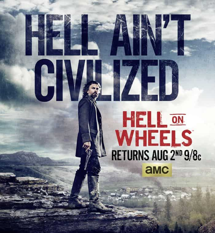HELL ON WHEELS Season 4 Poster