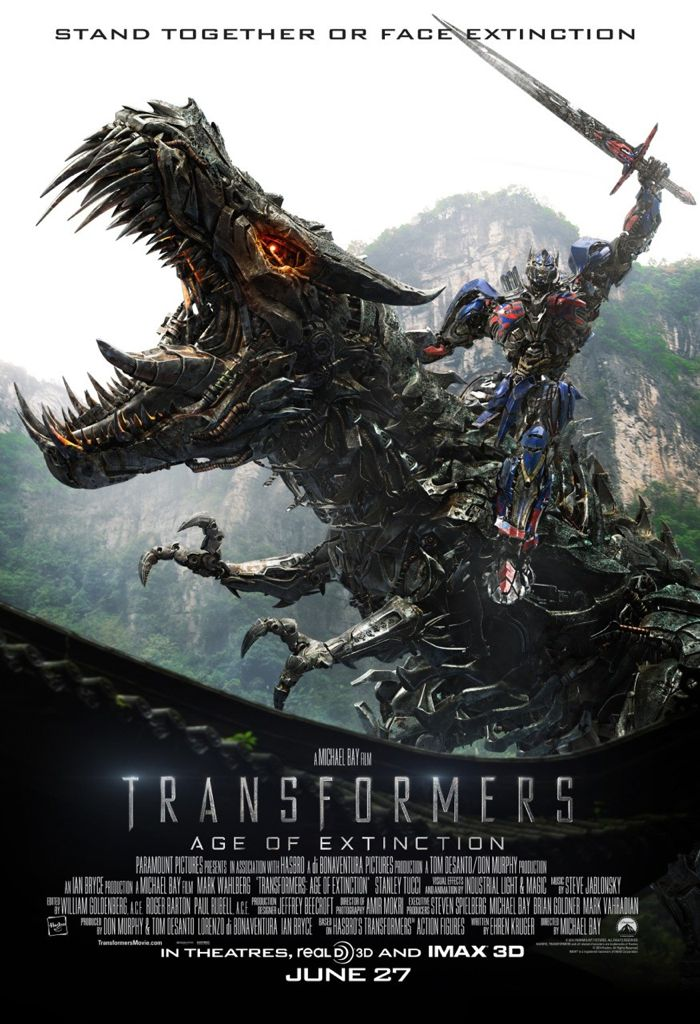 Transformers Age Of Extinction Poster 09