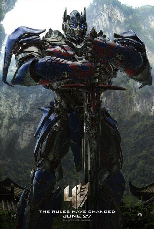 Transformers Age Of Extinction Poster 05