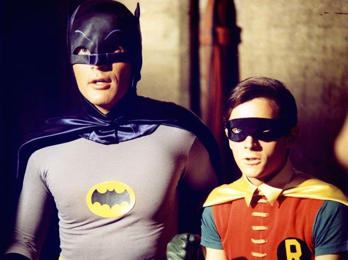 batman tv series adam west burt ward