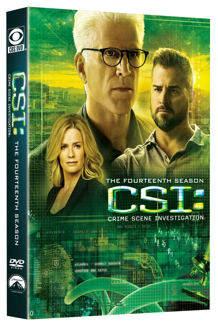 CSI Season 14 DVD Cover 1