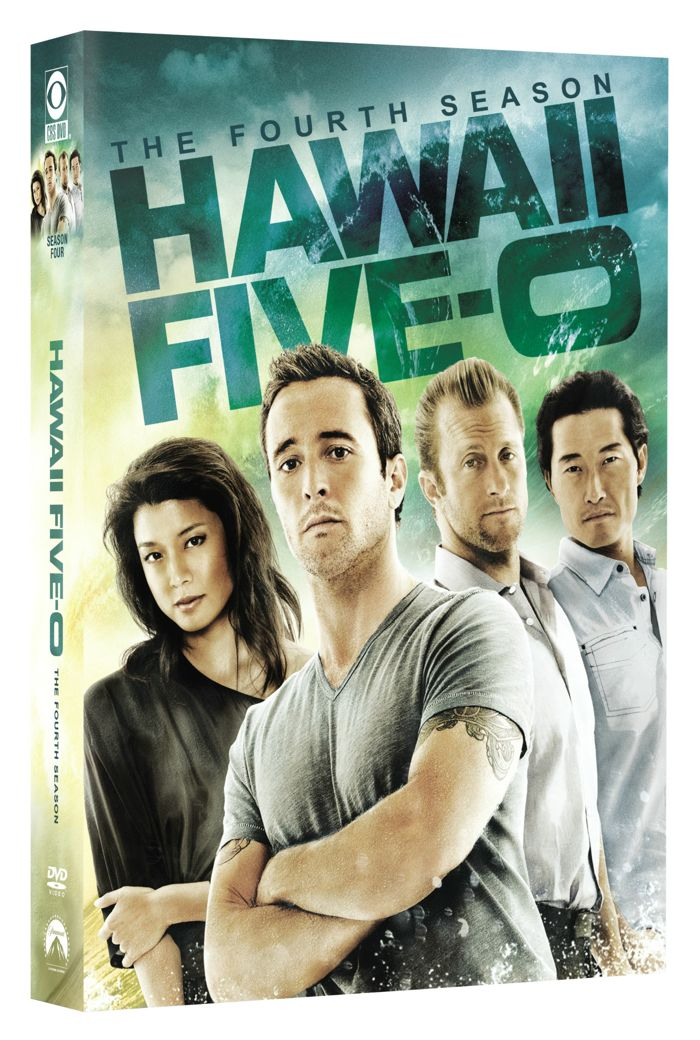 Hawaii 5 o Season 4 DVD Cover