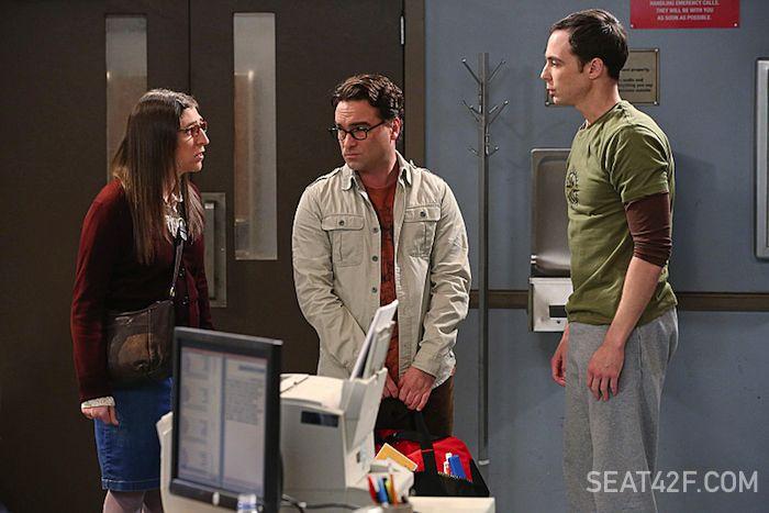 Johnny Galecki, Mayim Bialik, Jim Parsons The Big Bang Theory Season 8