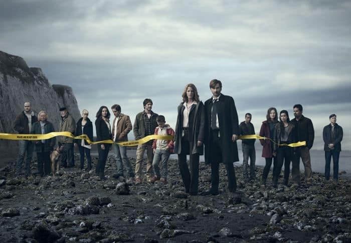 Gracepoint Cast FOX Stephen Louis Grush, Jacki Weaver, Nick Nolte, Sarah-Jane Potts, Jessica Lucas, Kevin Zegers, Josh Hamilton, Jack Irvine, Anna Gunn, David Tennant, Kendrick Sampson, Virginia Kull, Madalyn Horcher, Michael Pena and Kevin Rankin