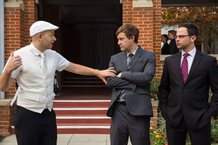 The League Paul Scheer as Andre, Mark Duplass as Pete, Nick Kroll as Ruxin