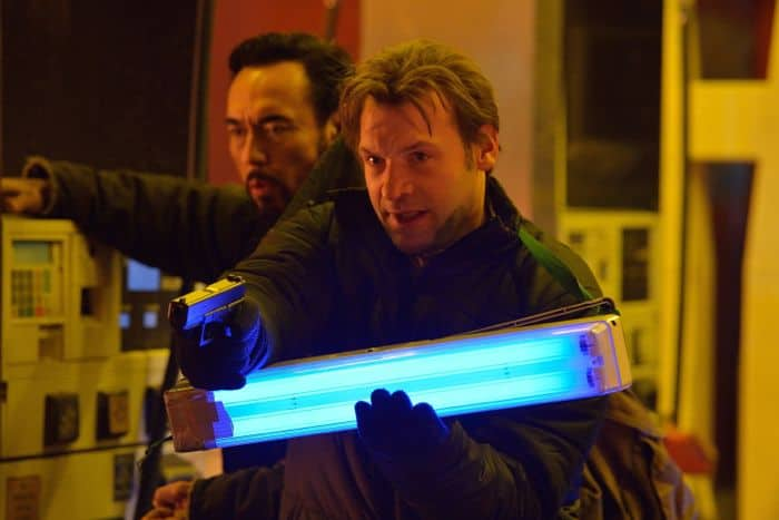 The Strain 1x08 Kevin Durand as Vasily Fet, Cory Stoll as Ephraim Goodweather