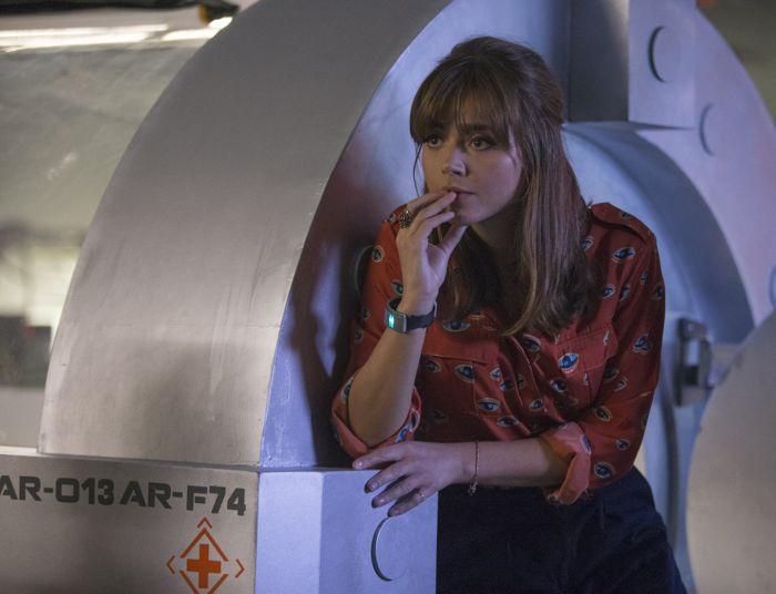 Doctor Who, Season 8, Episode 2, Clara (Jenna Coleman)
