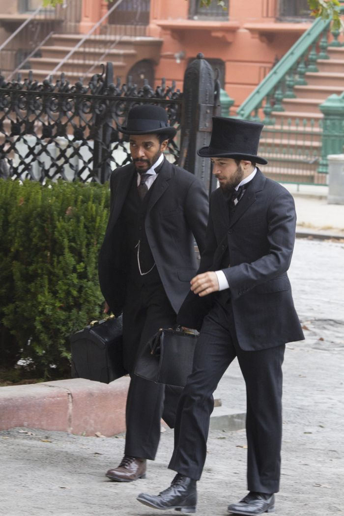 Andre Holland, Michael Angarano The Knick