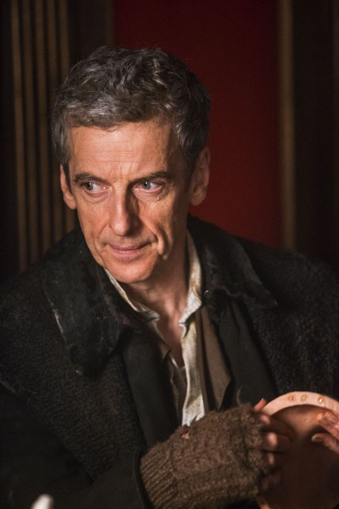 Doctor Who, Season 8, Episode 1, the Doctor (Peter Capaldi)