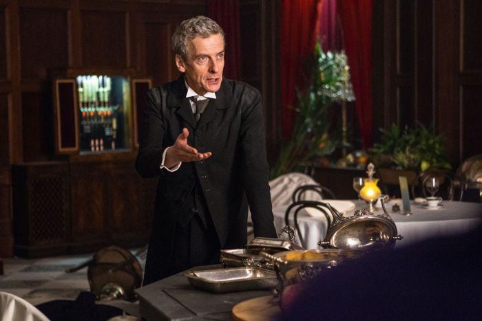 Doctor Who, Season 8, Episode 1, the Doctor (Peter Capaldi)