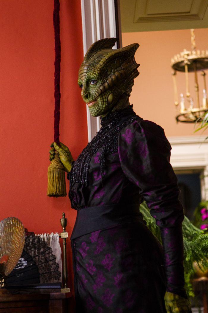 Doctor Who, Season 8, Episode 1, Madame Vastra (Neve McIntosh)