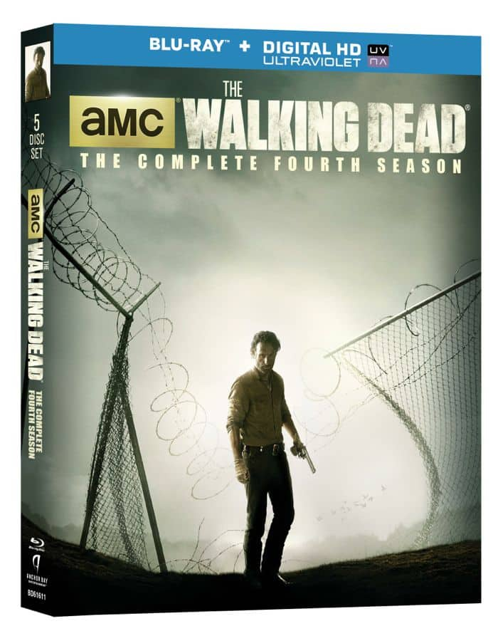 The Walking Dead Season 4 Bluray