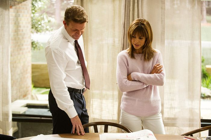 Matt Passmore as Neil Truman, Stephanie Szostak as Grace Truman Satisfaction