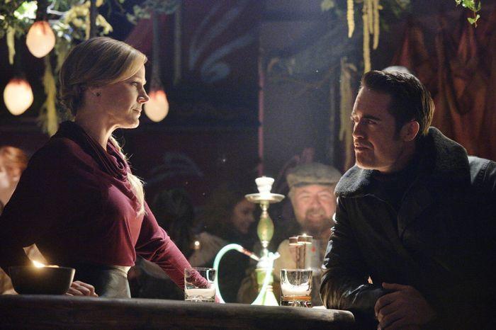 Julie Benz as Amanda Rosewater, James Murray as Niles Pottinger Defiance Season 2