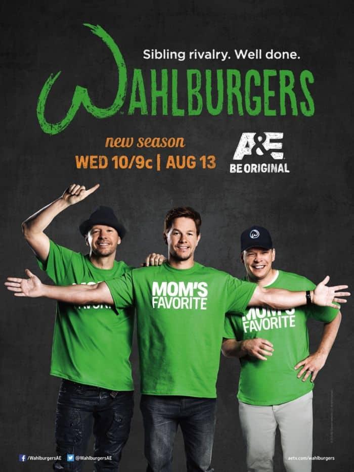 Wahlburgers Season 2 Poster