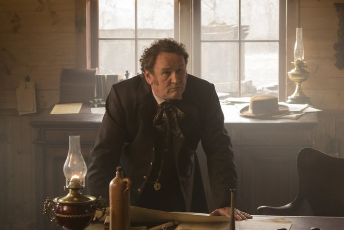 Hell on Wheels Season 4, Episode 3  Colm Meaney as Thomas 'Doc' Durant
