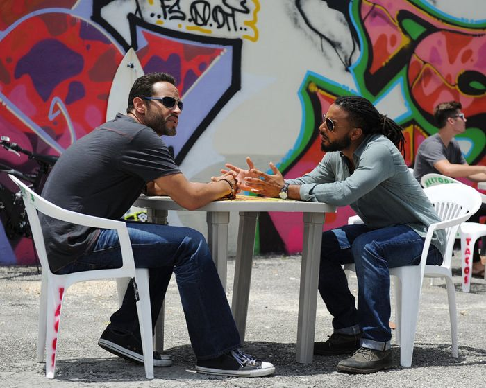 Daniel Sunjata as Paul Briggs, Brandon Jay McLaren as DJ Jakes Graceland
