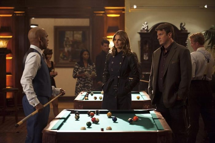 TOM WRIGHT, STANA KATIC, NATHAN FILLION