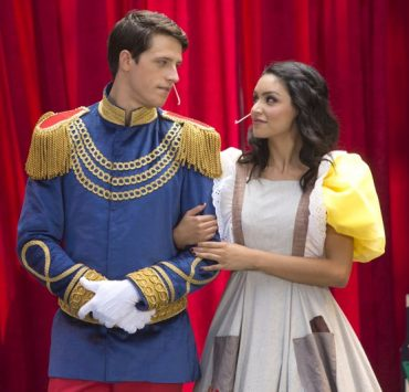 Bianca Santos as 'Lucy' & Shane Harper as 'Ian' in costume Happyland MTV