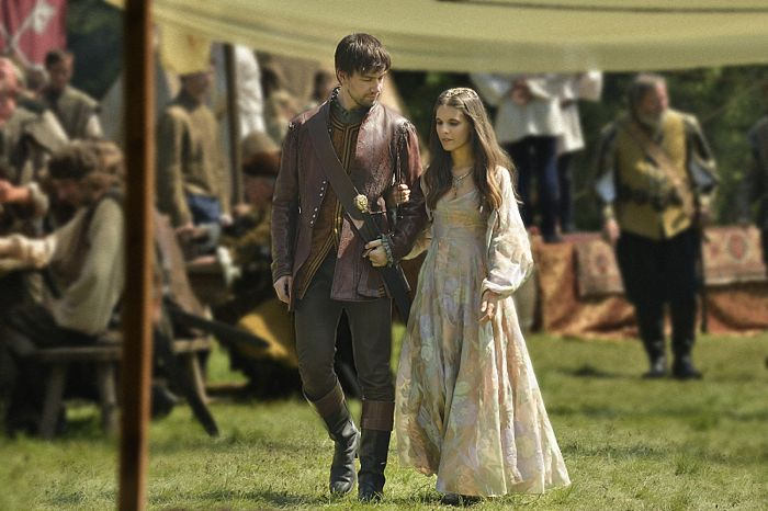 Torrance Coombs as Bash and Caitlin Stasey as Kenna Reign Coronation
