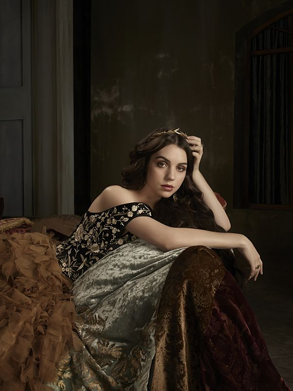 Adelaide Kane as Mary, Queen of Scotland and France Reign