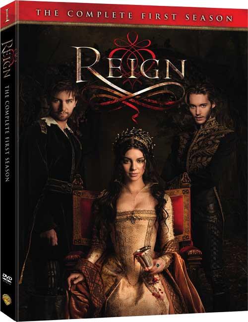 Reign Season 1 DVD Cover