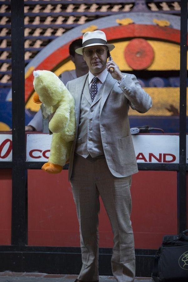 "THE BLACKLIST -- ""Monarch Douglas Bank"" Episode 202 -- Pictured: James Spader as Red Reddington"