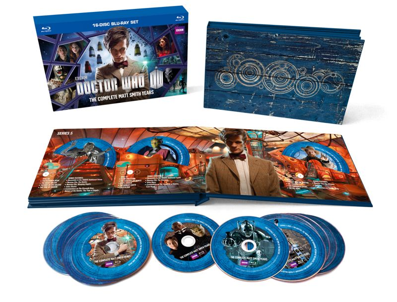 Doctor Who Matt Smith Complete Collection