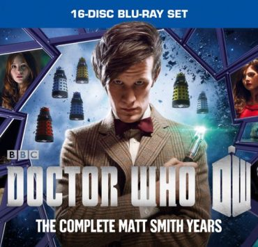 Doctor Who Matt Smith Complete Collection Bluray