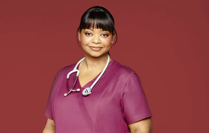 Octavia Spencer as Nurse Jackson. RED BAND SOCIETY