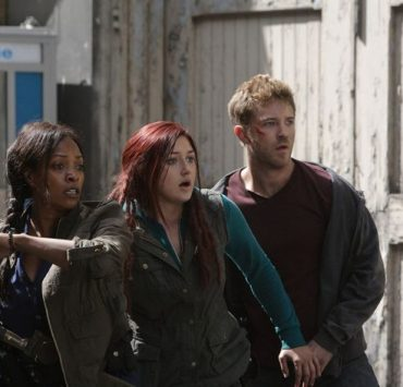 Kellita Smith as Warren, Anastasia Baranova as Addy, Michael Welch as Mack ZNation