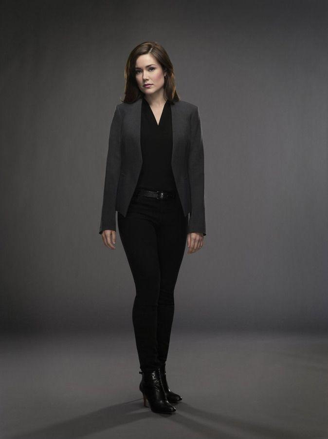 Megan Boone as Elizabeth Keen Blacklist