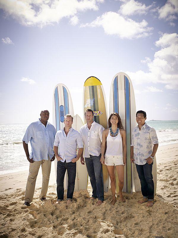 Chi McBride,  Scott Cann, Alex O'Loughlin ,Grace Park, and Daniel Dae Kim star in  HAWAII FIVE-0