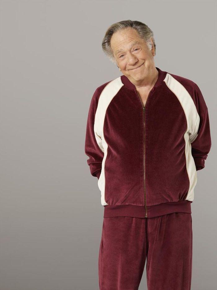 George Segal as Pops Solomon The Goldbergs