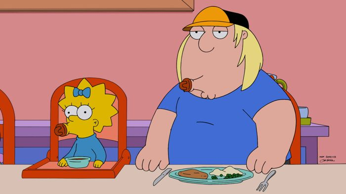 Family Guy The Simpsons Crossover Episode 04