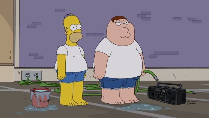 Family Guy The Simpsons Crossover Episode 03